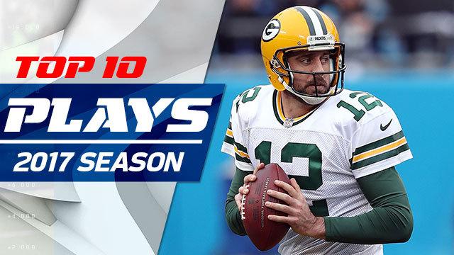 Top 10 Aaron Rodgers plays   2017 season