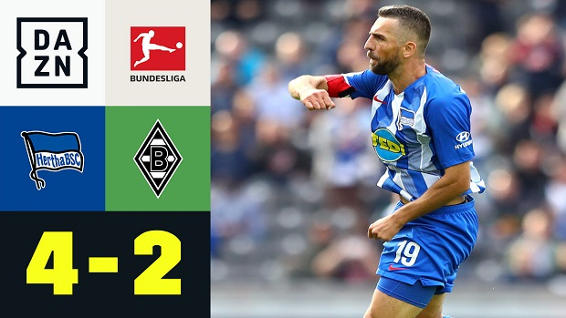 Bundesliga: Hertha BSC - Borussia M'Gladbach | DAZN Highlights
