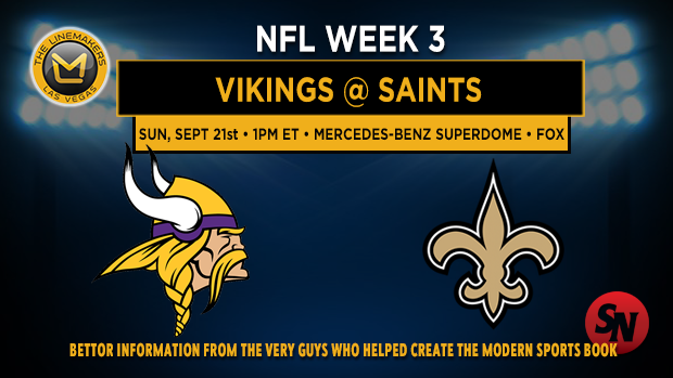 Minnesota Vikings @ New Orleans Saints