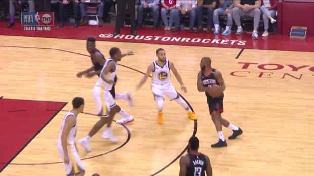 WSC: Chris Paul 20 points vs the Warriors