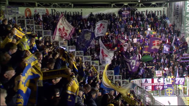 Serie A: Frosinone - Florenz   DAZN Highlights