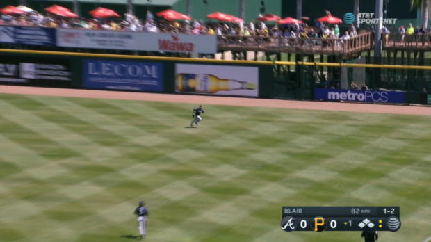 Dickerson's three-run triple