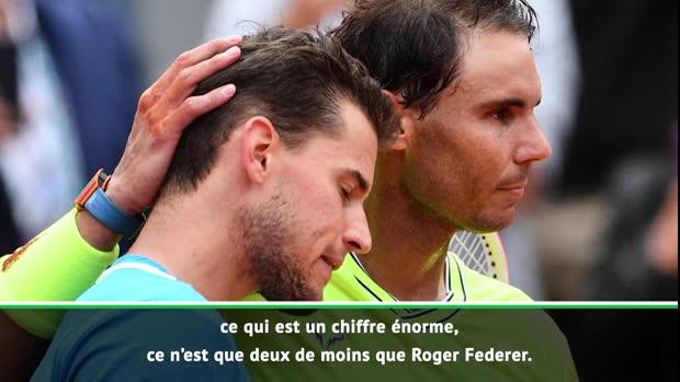 """Tennis : Roland-Garros - Thiem - """"Nadal a joué de manière exceptionnelle"""""""