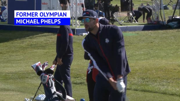 McEnroe, Phelps lead celebrities at the Ryder Cup