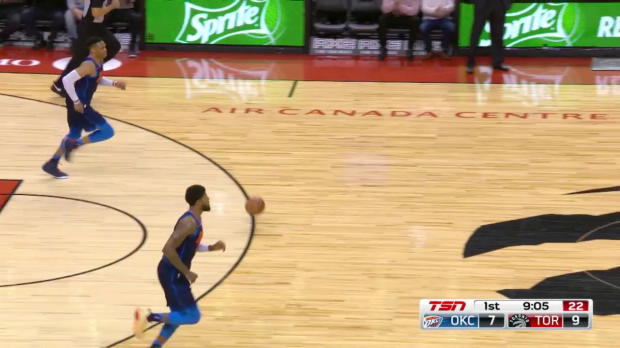 WSC: Kyle Lowry 22 points vs the Thunder