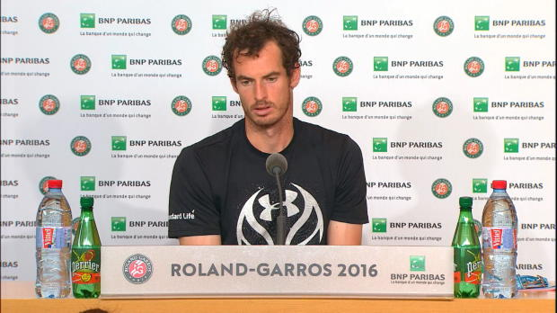 "French Open: Murray: ""Level sehr hoch"""