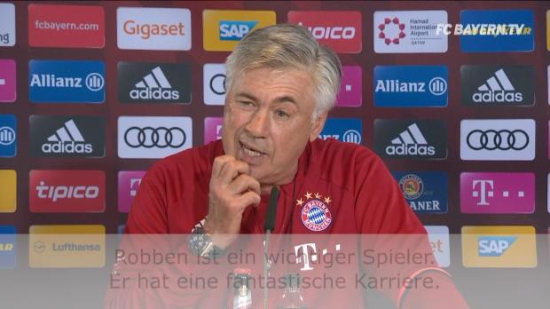 Ancelotti: So steht es um Robben-Verlängerung