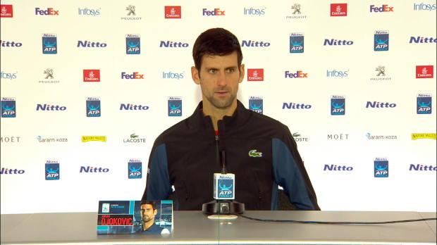 """ATP-Finals: Djokovic: """"Zukunft in guten Händen"""""""