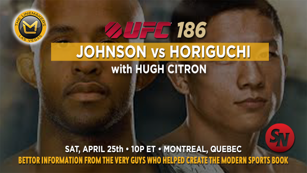UFC 186 Johnson VS Horiguchi