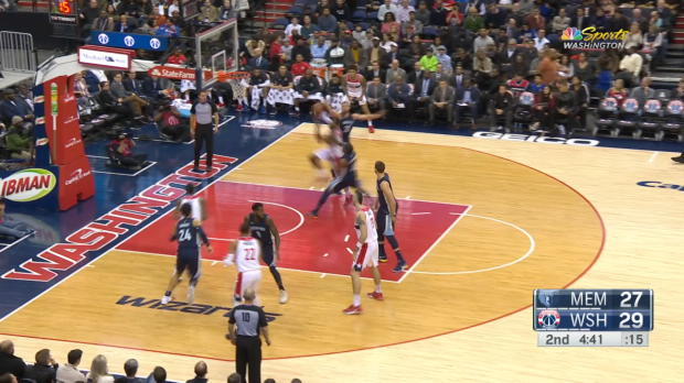 GAME RECAP: Wizards 93, Grizzlies 87