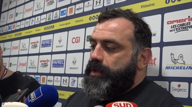 Top 14 - 14e j. : Zirakashvili : ''Restons calmes''