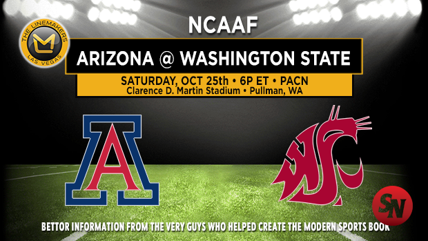 Arizona Wildcats @ Washington State Cougars
