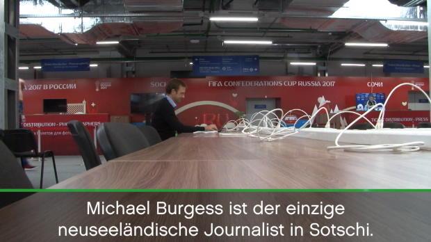 Confed Cup: Michael Burgess, der einsame Kiwi