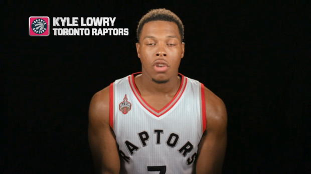 NBA World: Talking NBA with Kyle Lowry - the steal