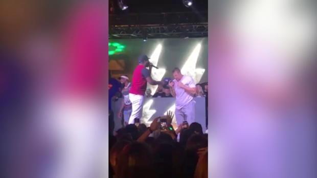 Shaq vs. Gronk: Episches Dance Battle in Miami