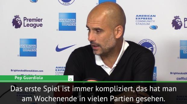 """Guardiola: """"Jedes Spiel ist eine Schlacht"""""""