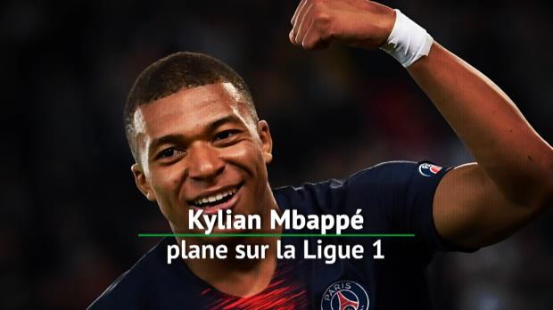 PSG - Kylian Mbappé plane sur la Ligue 1