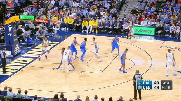 GAME RECAP: Nuggets 105, Mavericks 102