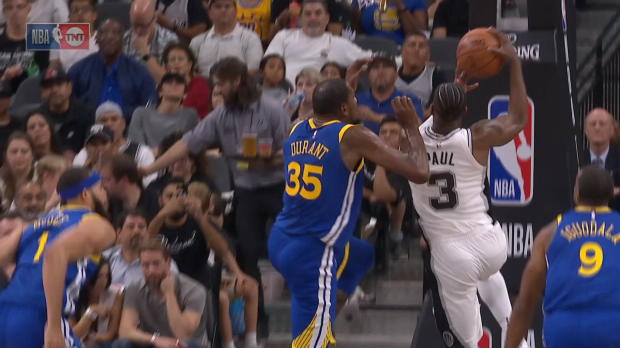 Block of the Night: Kevin Durant