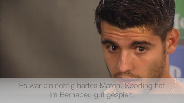 "Morata nach Sporting: ""Richtig hartes Match"""