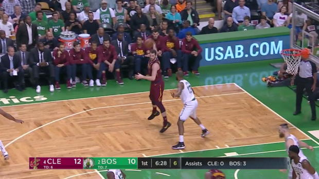 WSC: LeBron James Posts 42 points, 12 assists & 10 rebounds vs. Boston Celtics