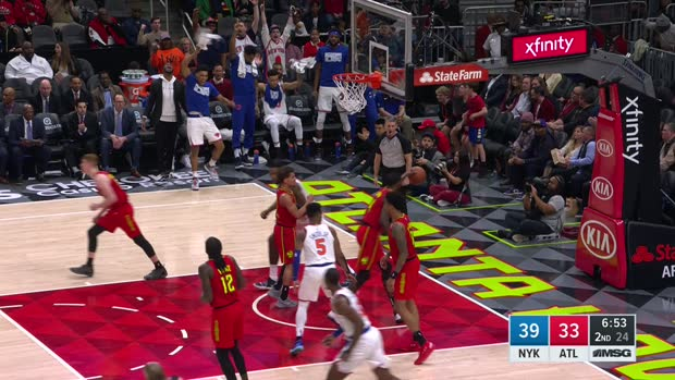 Assist of the Night: Dennis Smith Jr.