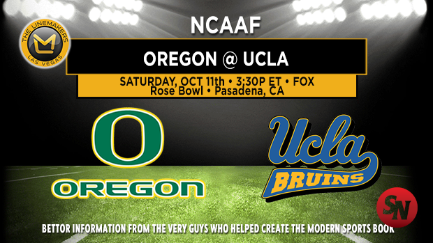 Oregon Ducks @ UCLA Bruins