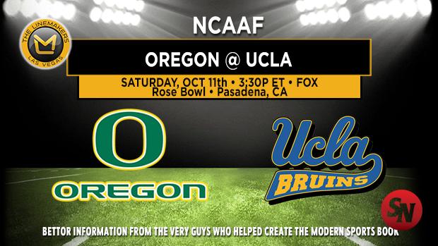 Oregon Ducks @ UCLA Bruins
