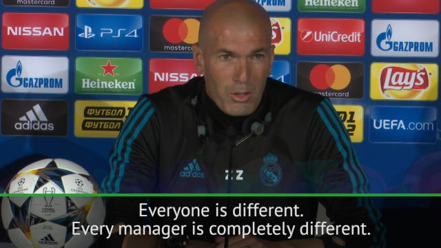 Klopp and I are very different - Zidane Thumbnail