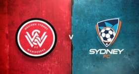 A sublime Brendon Santalab goal has guided the Wanderers to a 1-0 win over Sydney FC at ANZ Stadium on Saturday night.
