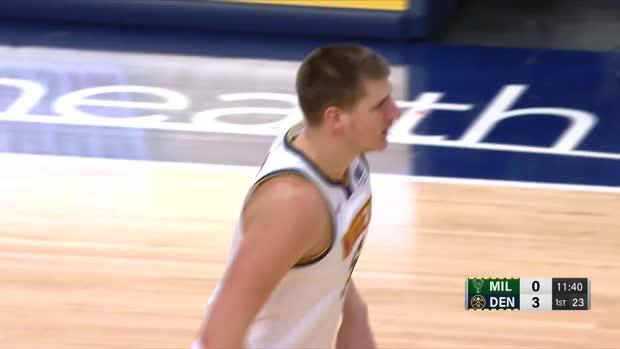 WSC: Nikola Jokic Giannis Antetokounmpo Highlights