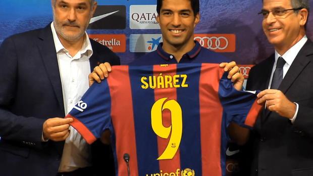 Le meneur de jeu catalan a hate d'évoluer aux cotés de Luis Suarez. L'atttaquant uruguayen qui a purgé sa suspension devrait effectuer ses grands débuts avec le Barça samedi lors du Clasico.