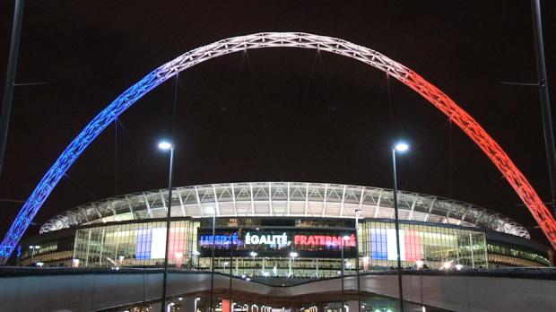 Emotionale Szenen im Wembley-Stadion