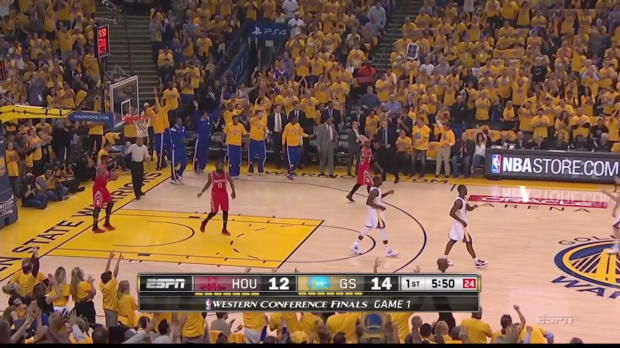 Currys show in game 1