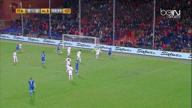Amical : Italie 1-0 Albanie
