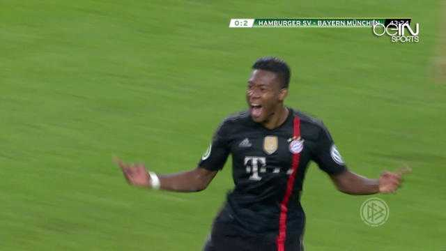 Bayern Munich : Le but de 35 mètres d'Alaba