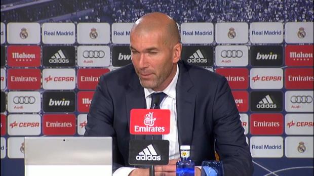 "Zidane nach Bilbao: ""Ronaldo verdammt gut"""