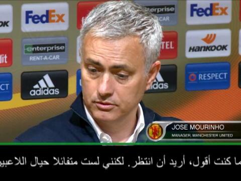 عام: الدوري الأوروبي: مورينيو غير متفائل حيال إصابة إبراهيموفيتش
