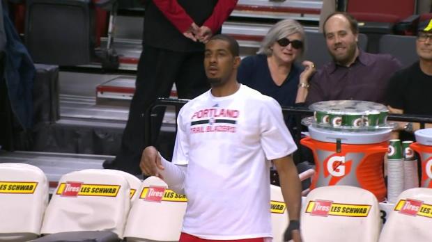Basket : NBA - Aldridge sous la main pour propulser les Blazers