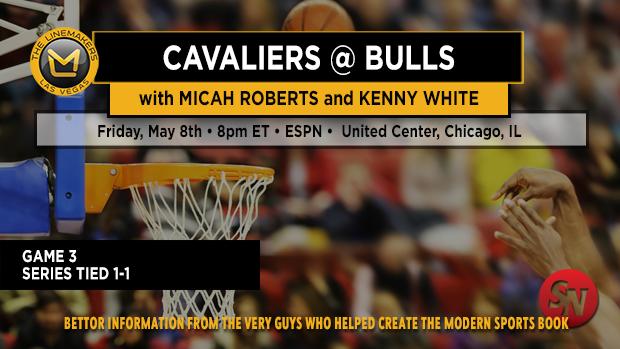Cavaliers @ Bulls Game 3