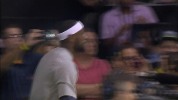 Basket : NBA - Les Cavs de Lebron matent le Heat à Rio