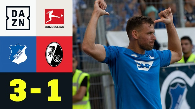 Bundesliga: TSG 1899 Hoffenheim - SC Freiburg | DAZN Highlights
