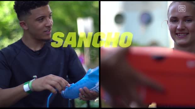 Sancho oder Hansen: Wer schnürt schneller?