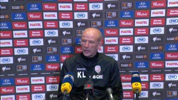 Perth Glory semi final press conference
