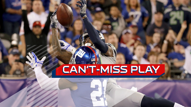 Can't-Miss Play: Seattle Seahawks wide receiver Paul Richardson holds on in incredible trick play TD