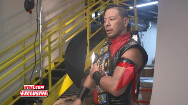 Behind the scenes of Shinsuke Nakamura's championship photo shoot: WWE.com Exclusive, July 15, 2018