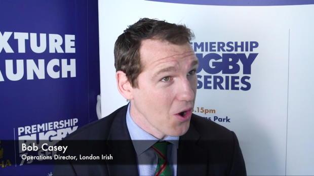 Aviva Premiership - Bob Casey previews London Irish?s new season