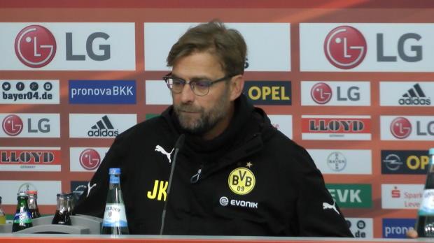 Le coach du Borussia Dortmund estime que le match nul obtenu face au Bayer Leverkusen, 3e avant cette 18e journée, est un bon résultat pour son club, toujours lanterne rouge de Bundesliga.