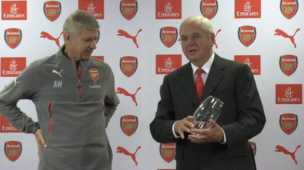 """20 Jahre Arsenal! Wenger: """"Fühle mich geehrt"""""""