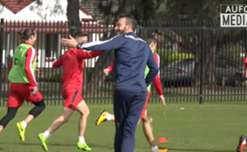 Adelaide United boss Marco Kurz looks ahead to Wednesday night's Westfield FFA Cup Round of 32 clash against Newcastle Jets.